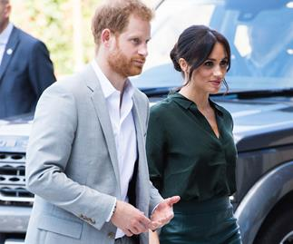 Prince Harry and Duchess Meghan arrive in Sydney ahead of their royal tour
