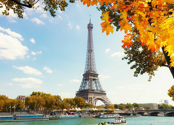 Although it can be pricey, the City of Love is a classic choice for post-wedding getaways.
