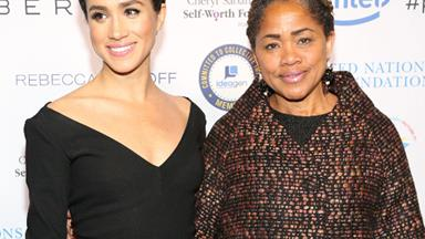 Doria Ragland had the cutest reaction to daughter Meghan Markle's pregnancy news
