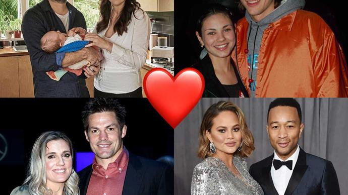 Jacinda and Clarke, Richie and Gemma, Ashton and Mila: How celebrity couples met