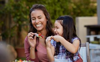 How to role model healthy eating habits for your kids