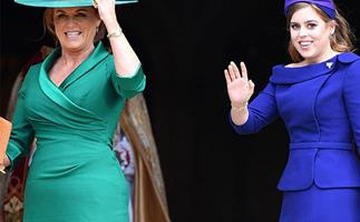 Back in the firm: How Princess Eugenie's wedding has re-affirmed Sarah Ferguson's place in the royal family
