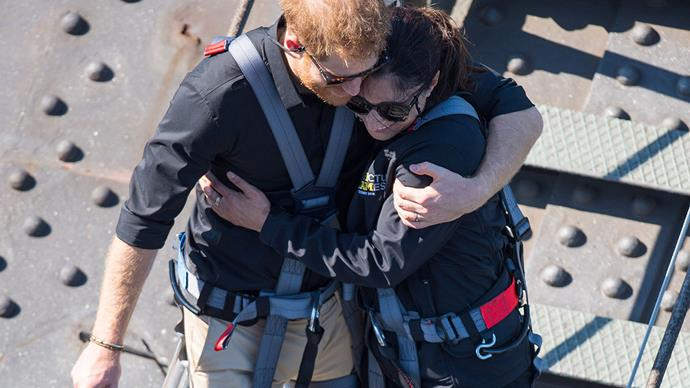 Why Prince Harry refused to cut short his conversation with a Sydney war widow