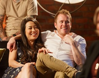 MAFS NZ final episode recap: tempers flare at the reunion party and secrets come out on the couch