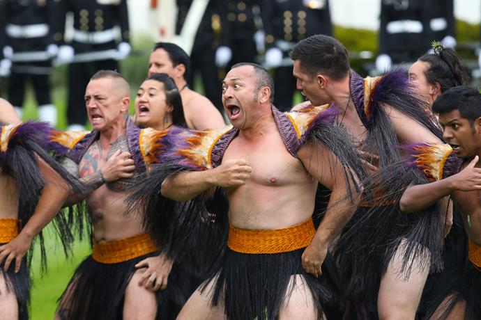 What an outstanding and passionate haka for our royal guests.