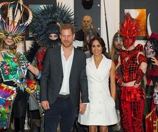 Prince Harry Duchess Meghan Courtney Creative Wellington