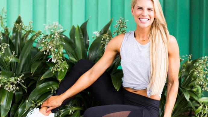 Former Biggest Loser Australia trainer Tiffiny Hall reveals why new mums need to be kinder to their bodies
