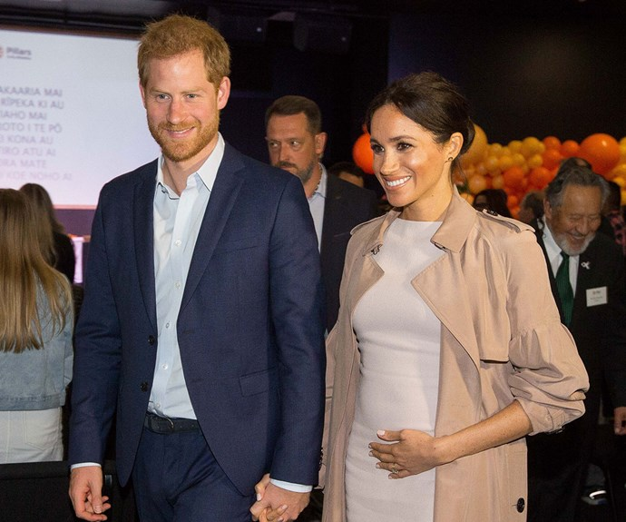 Prince Harry adorably comforts a starstruck girl during his visit to Pillars with Jacinda Ardern