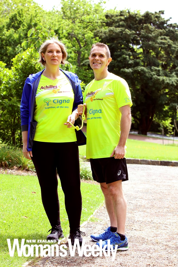 The couple hope to have soon completed 13 New York Marathons between them.