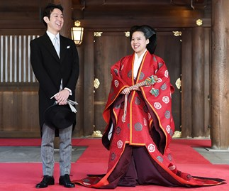 apan's Princess Ayako of Takamado Kei Moriya wedding marriage