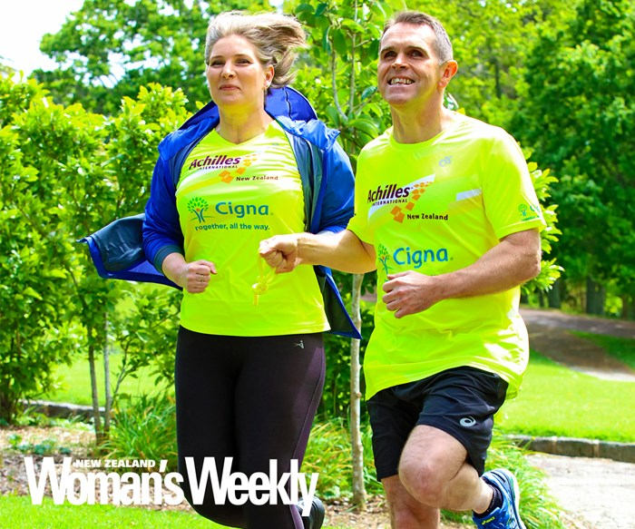 The inspirational visually impaired Kiwi couple who take on marathons together