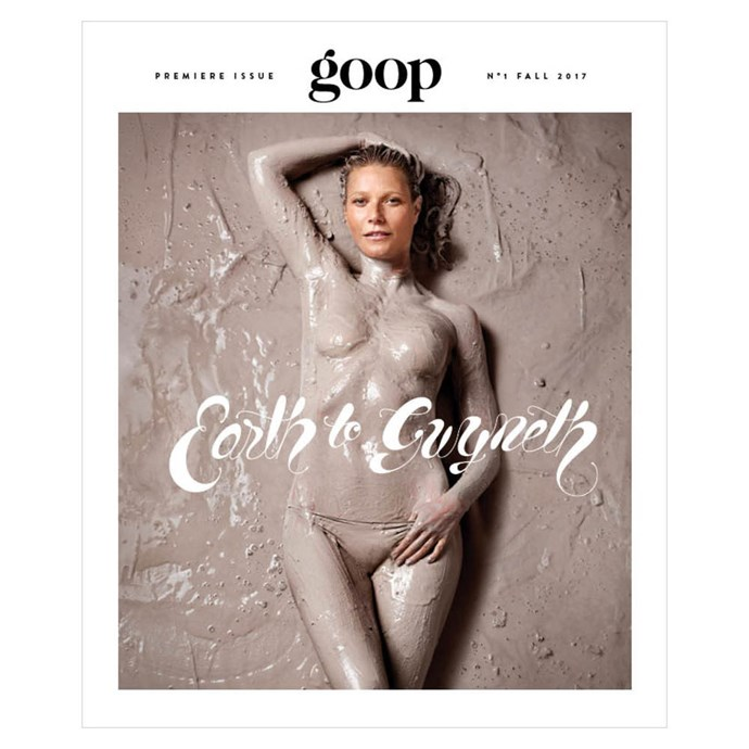 The Goop website was so successful, they launched a magazine but it was cancelled by the publisher after only two issues.