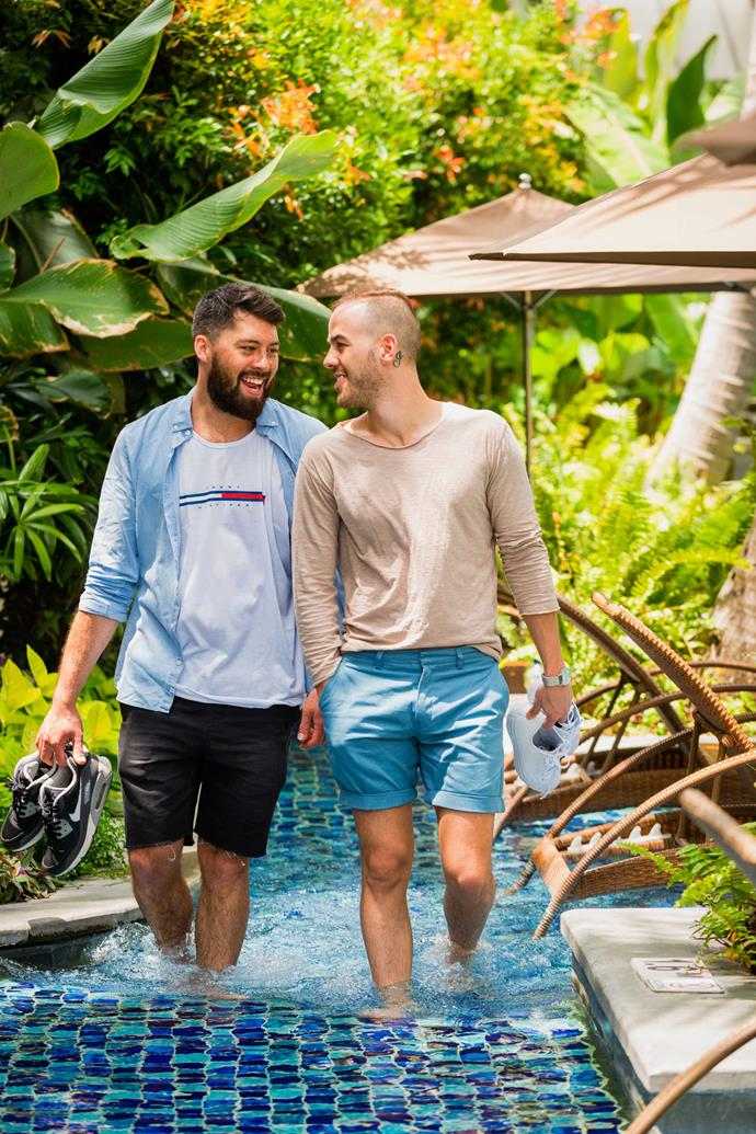 Congrats! The honeymoon's just begun for Tayler and Sam.