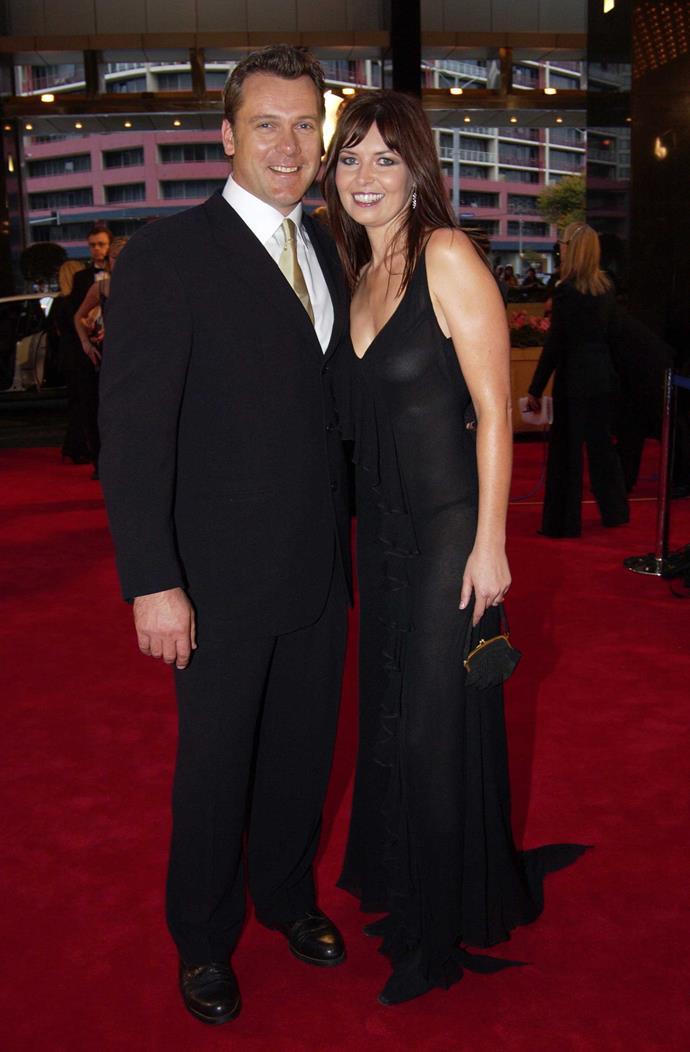 Erik and wife Caitlin.