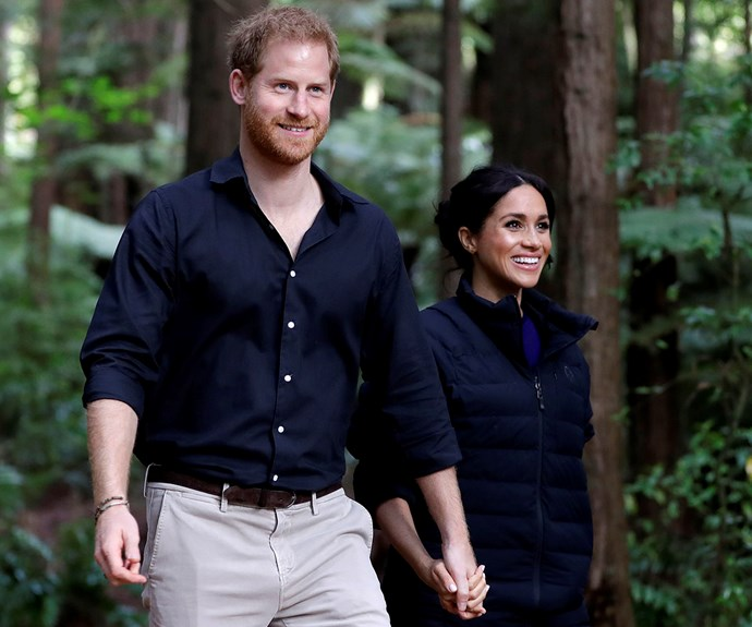 Prince Harry and Duchess Meghan give a special shout out to NZ for a 'wonderful last week' of their royal tour