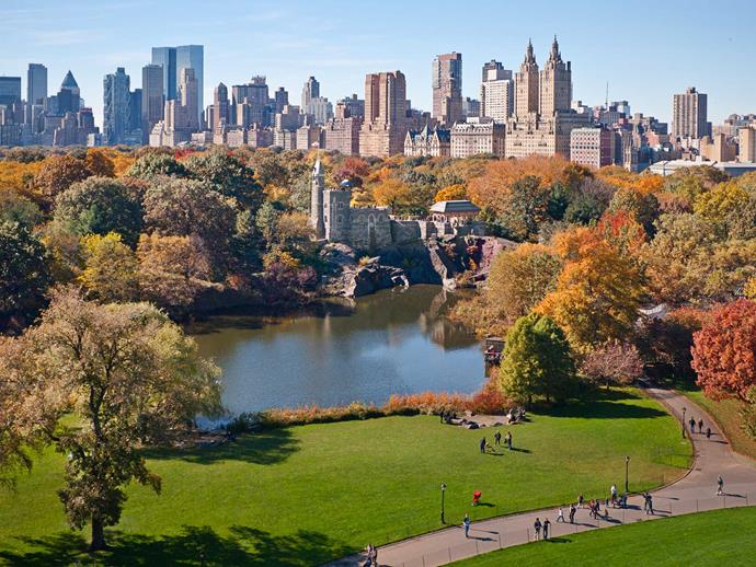Getting your 10,000 steps is a breeze when taking in  Central Park's sights.