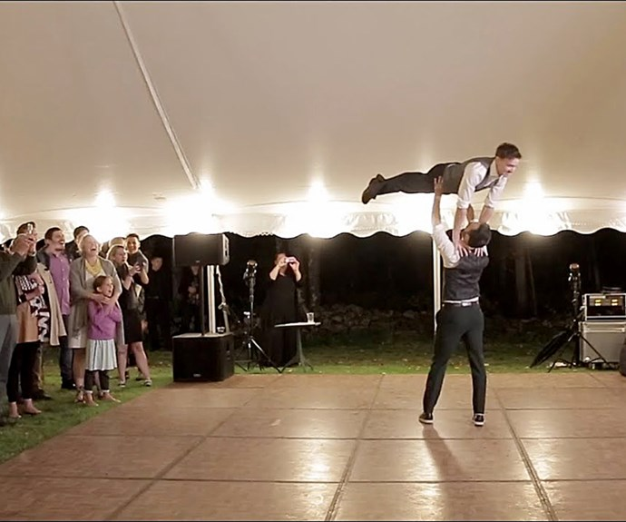 The incredible wedding dance that will be the best thing you see all day