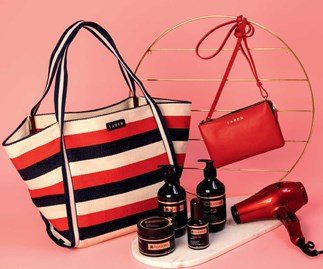 Win the NEXT December bag of the month from Saben