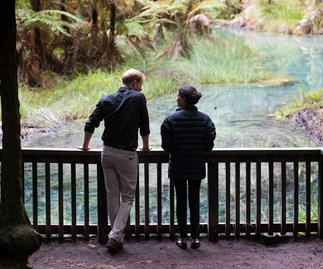 The footage you didn't get to see from Prince Harry and Duchess Meghan's royal tour of NZ