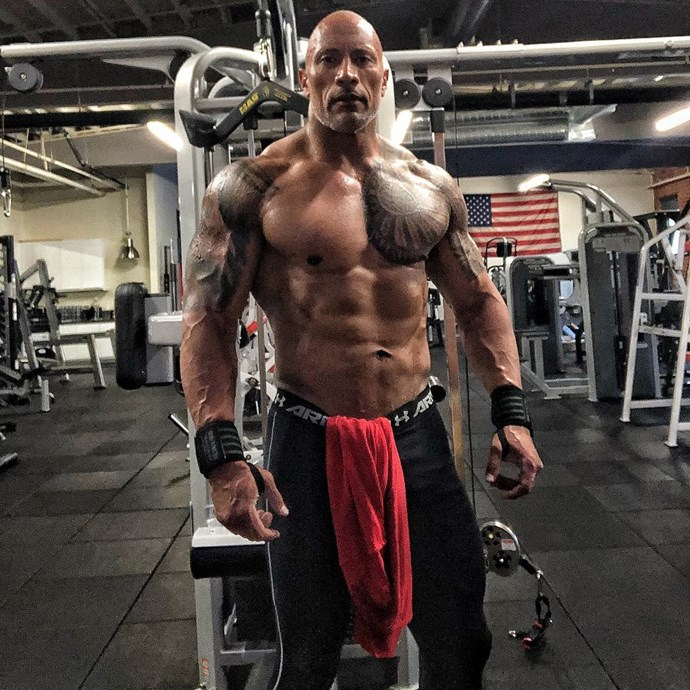 Dwayne 'The Rock' Johnson took out the title in 2016. No idea why.