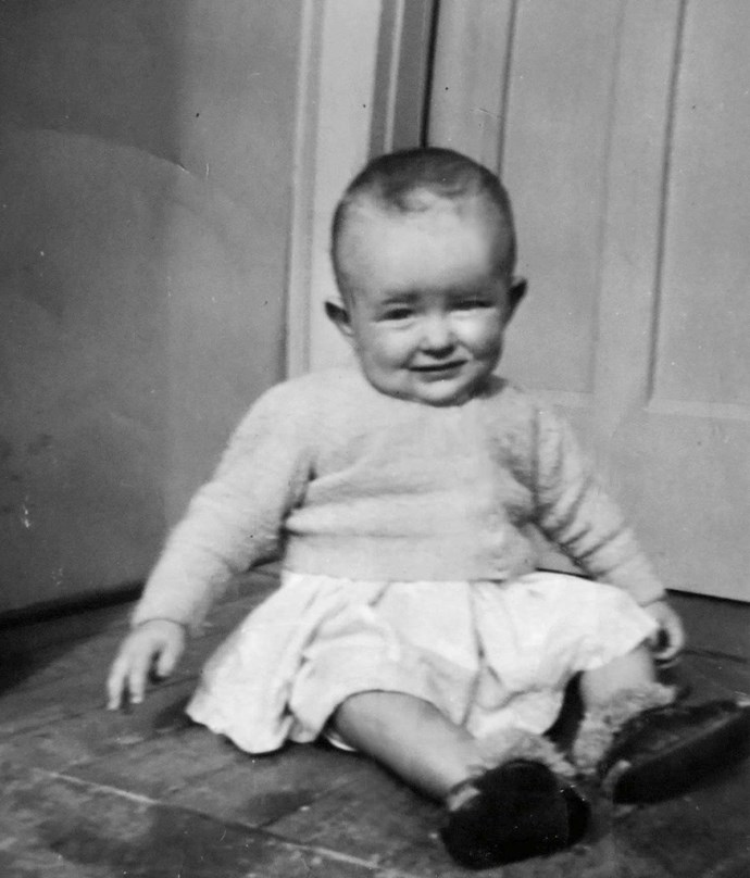 A bonny wee baby, Christine's condition didn't show until she was 7.