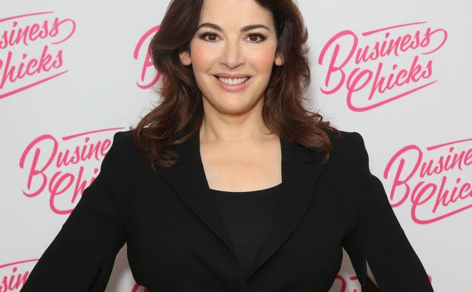 Nigella Lawson has revealed her secret to perfect skin and it involves rubber gloves