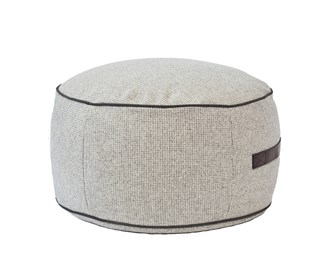 Win a Hushaberry Woven Houndstooth Pouf