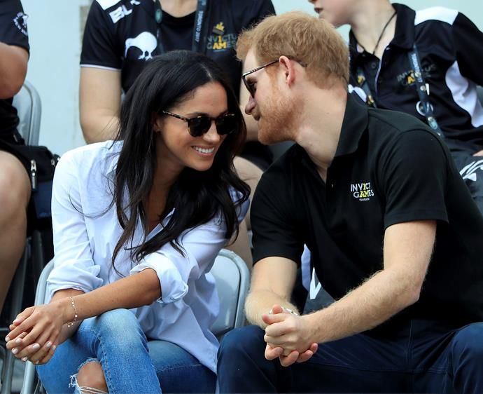 Harry chose a place close to his heart, the Invictus Games, to step out with Meghan for the first time.