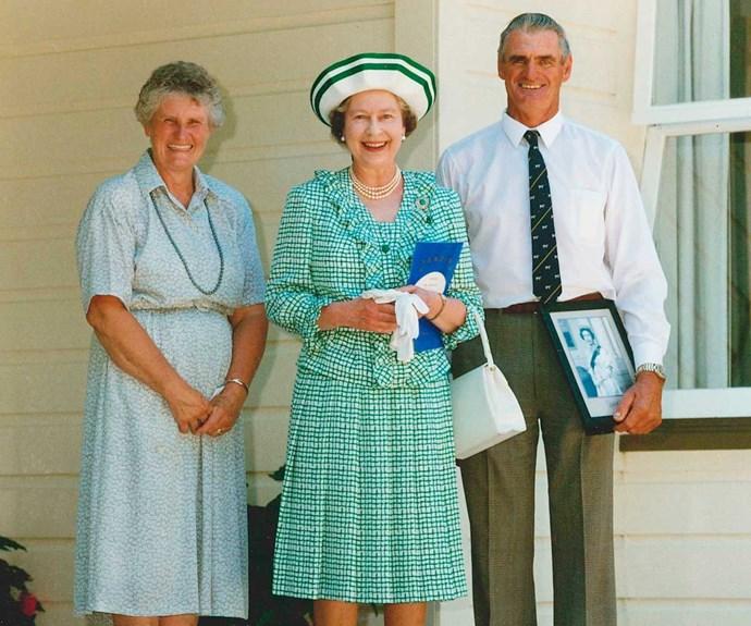 """The Waikato farmers who Queen Elizabeth counts as """"true friends"""""""