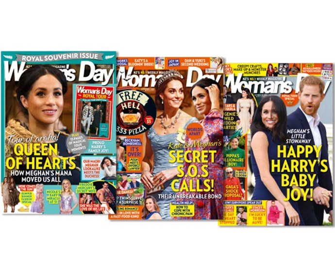Win a 6-month subscription to Woman's Day!