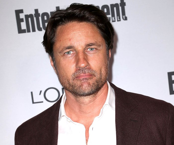 Martin Henderson's Malibu home comes perilously close to being destroyed in the California wildfires