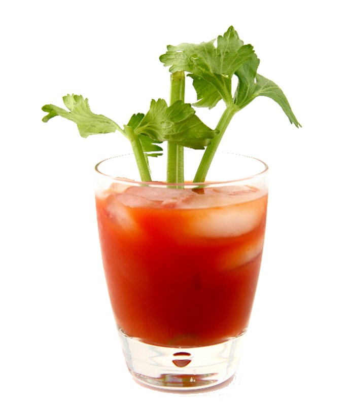 Tomato juice is the the most requested drink in the skies.