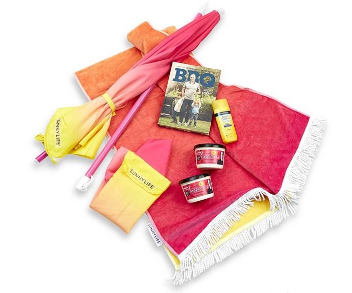 Win a summer fun gift pack!