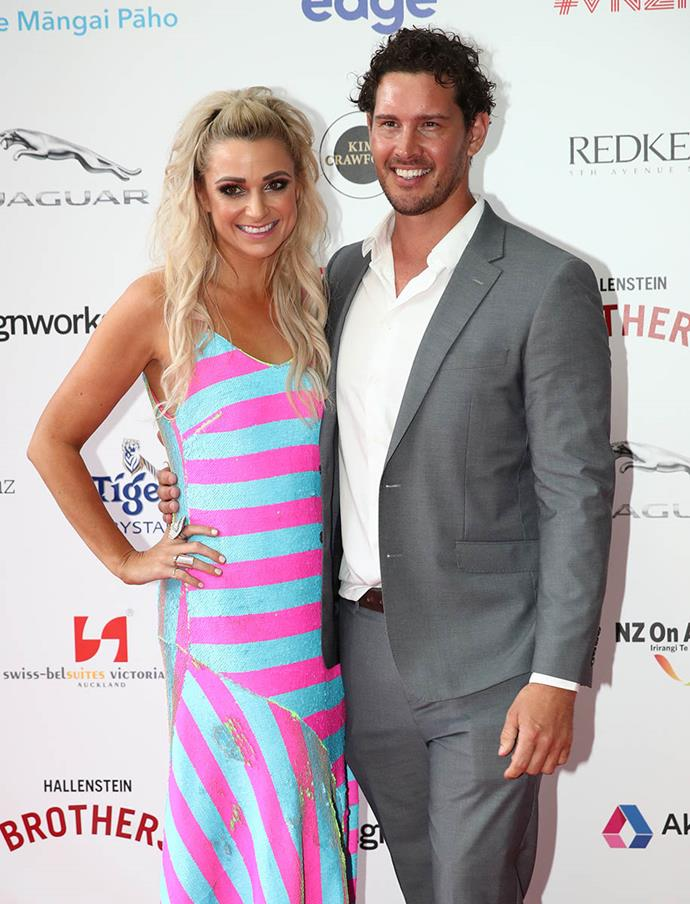 "Former Bachelor [Zac Franich](https://www.nowtolove.co.nz/lifestyle/sex-relationships/former-bachelor-zac-franich-and-erin-simpson-discuss-their-whirlwind-romance-37323|target=""_blank"") and his new love Erin Simpson. Erin wore Trelise Cooper and was excited to see the designer at the event. ""Trelise is actually here so I went up to her and asked, 'Do you like my dress?' She said she loved it!"""