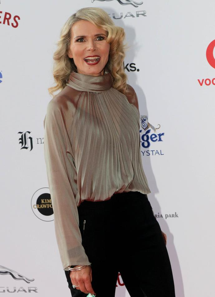 "Dancing With The Stars favourite Suzy Cato looked absolutely stunning in ""something from Suzy Cato's wardrobe."""