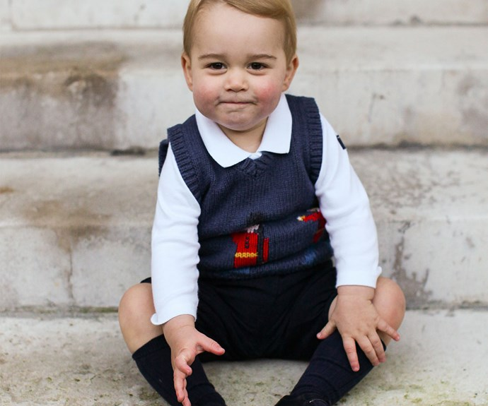 "[Prince George won Christmas back in 2014](http://www.nowtolove.co.nz/celebrity/royals/prince-george-looks-adorable-in-official-christmas-photos-23094|target=""_blank"") with this insanely cute shot. *(Image: Ed Lane Fox/Getty Images)*"