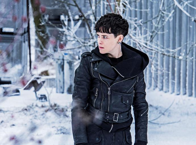 In *The Girl in the Spider's Web* as Lisbeth.