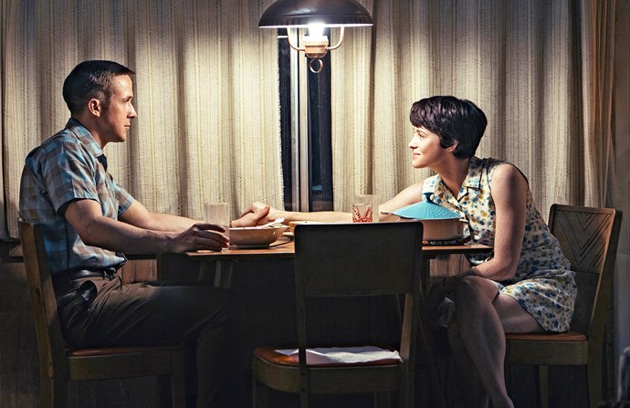 Claire with Ryan Gosling in *First Man*