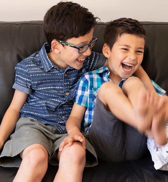 Caleb and Ryan