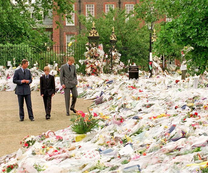**August 31, 1997**  Diana is killed in a car crash in Paris. Charles flies to the French capital to accompany the body of his ex-wife back to Britain.