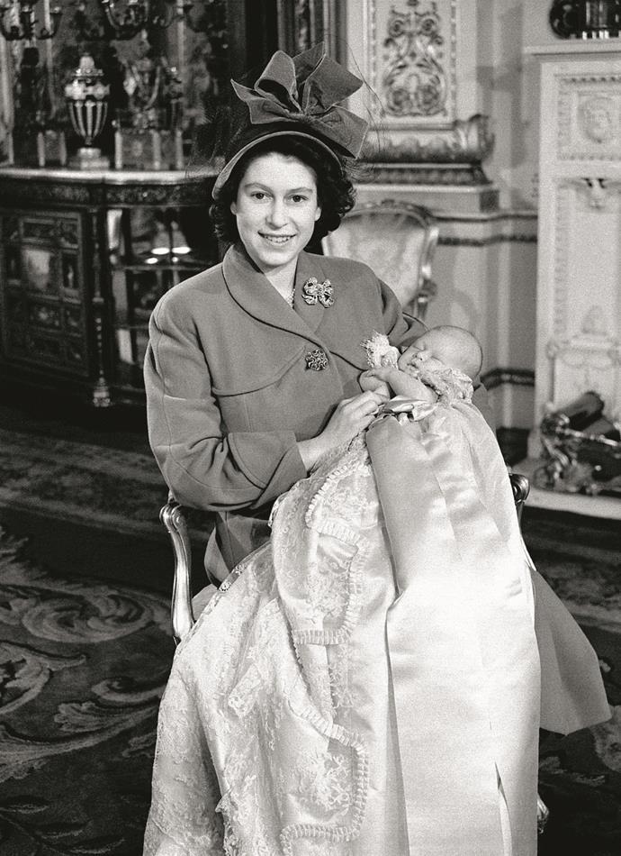 **November 14, 1948**  Charles Philip Arthur George – the first child of Princess Elizabeth and Prince Philip, the Duke of Edinburgh, is born at Buckingham Palace.