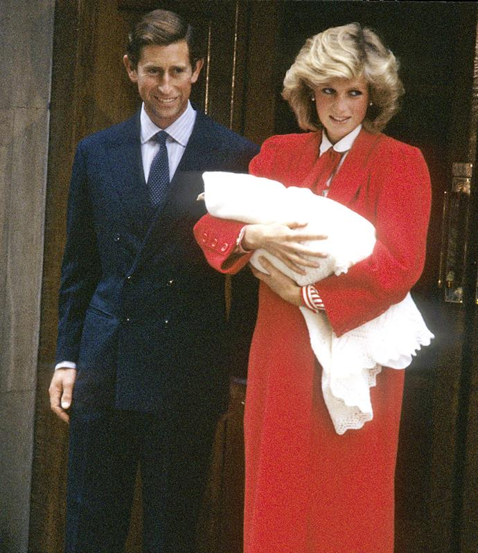 **September 15, 1984**  Second son Prince Henry – known as Harry – is born.