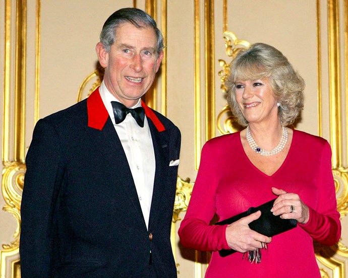 **February 10, 2005**  With the blessing of their families, Charles and Camilla announce their engagement.