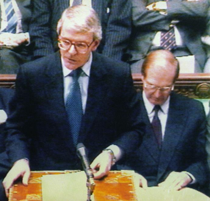 **December 9, 1992**  UK Prime Minister John Major announces Charles and Diana are to separate after 11 years of marriage.