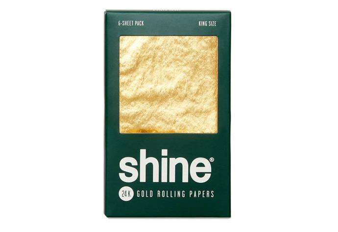 """For a website that purports to be a wellness guide, this suggestion seems like a strange inclusion. But perhaps they're trying to bankrupt smokers everywhere with these 24-karat gold hemp blend rolling papers. At [$80 NZD](https://shop.goop.com/shop/products/king-size-24k-gold-rolling-papers
