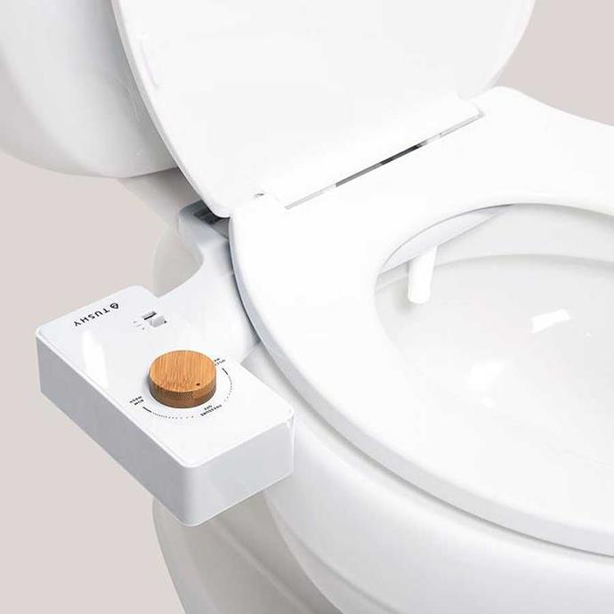 """Nothing says """"I love you"""" like giving someone a portable bidet. For [$100 NZD](https://hellotushy.com/