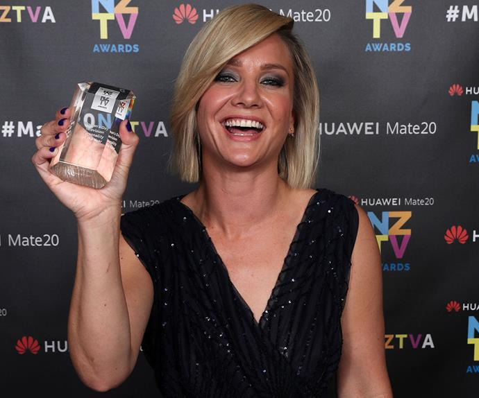 Hayley Holt New Zealand Television Awards