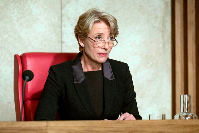 As High Court judge Fiona Maye in *The Children Act*.