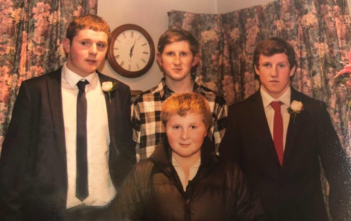 Sons Sam, Ben, William and Daniel.