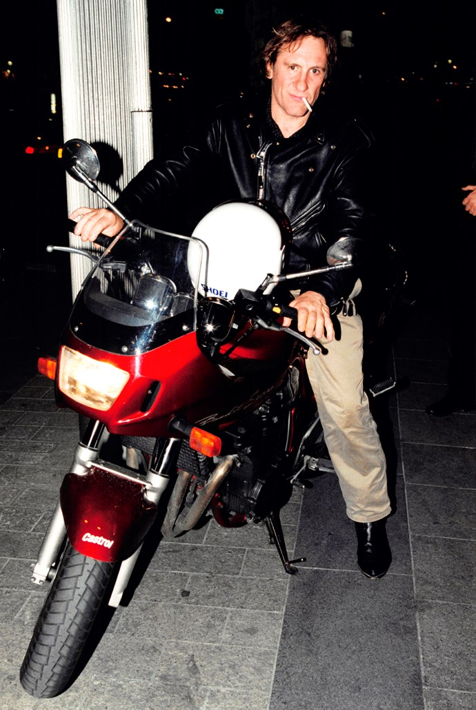 Known to challenge the paparazzi to chase him, Gerard gave up after crashing his motorbike and failing a breath test.
